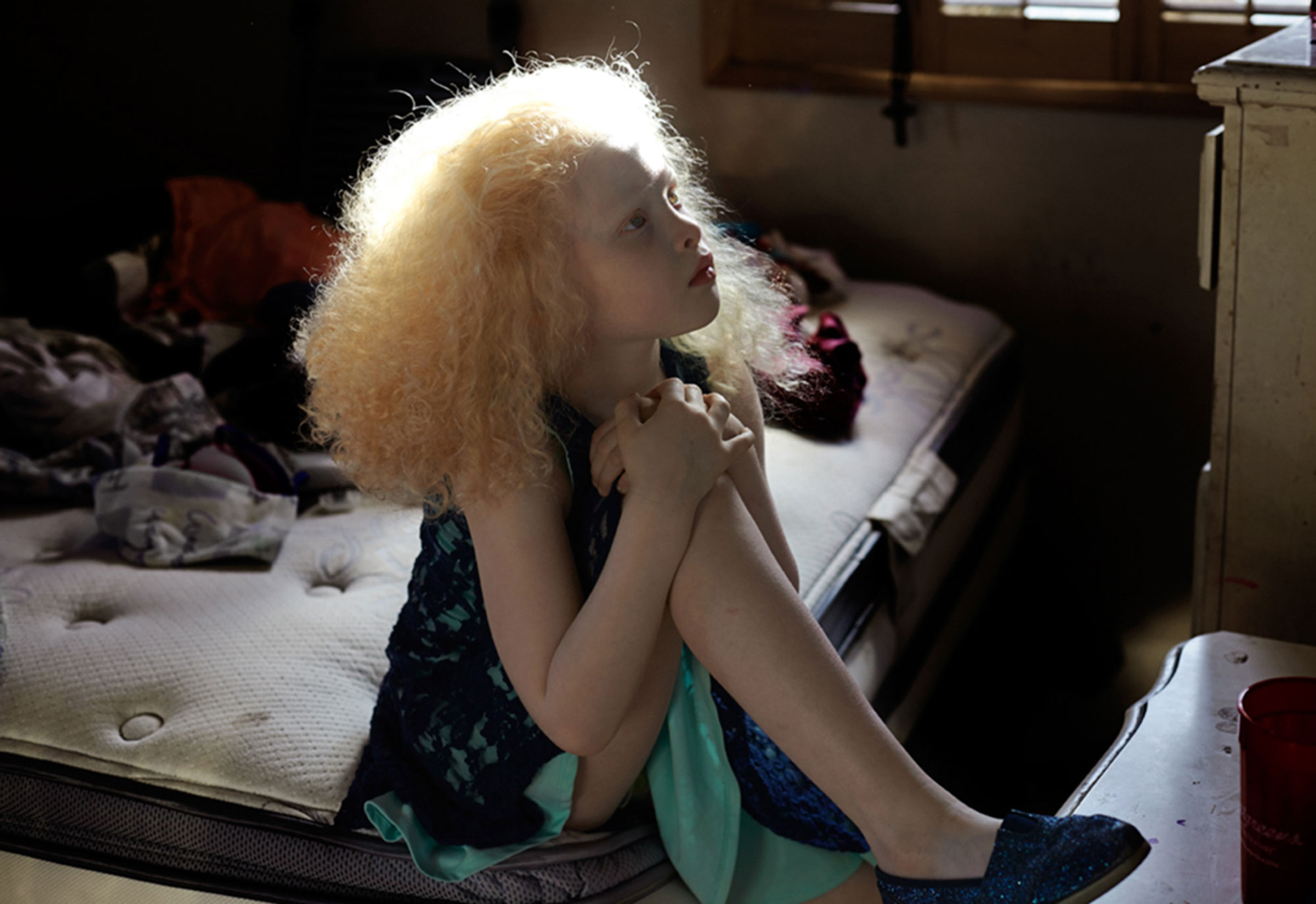 Ellyana in bedroom
