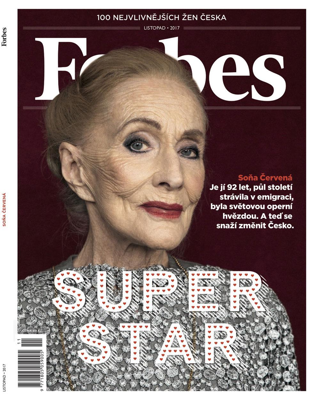 Sona Cervena for Forbes